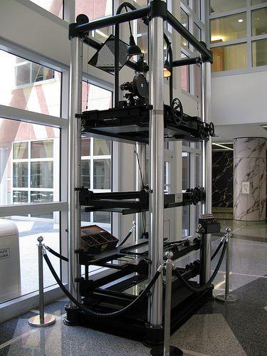 Walt Disney Studios - Burbank, CA - Walt's Invention - The Multiplane Camera.