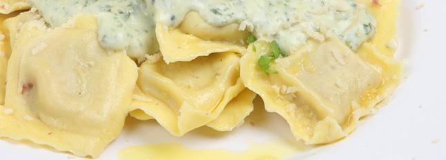 Ravioli met ricotta en spinazie (Galbani)