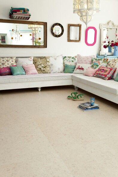 Cork flooring. Comfort, naturally! By Granorte