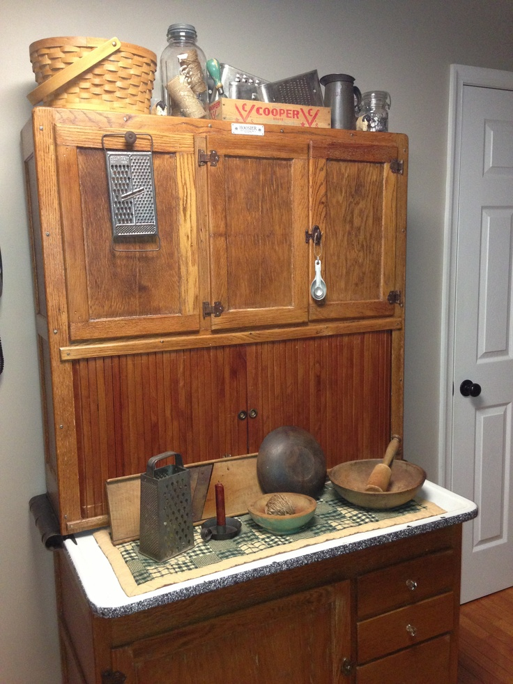 86 best images about Hoosier Cabinet on Pinterest