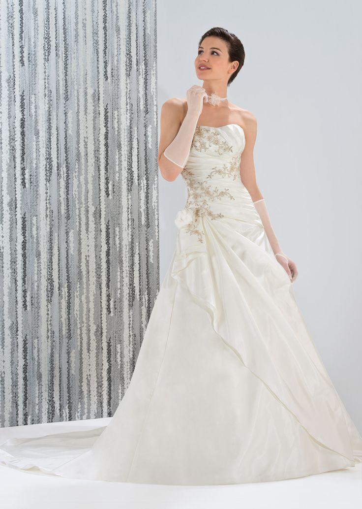 Les 25 meilleures id es concernant robes de mari e en organza sur pinterest - Noelle breham est elle mariee ...
