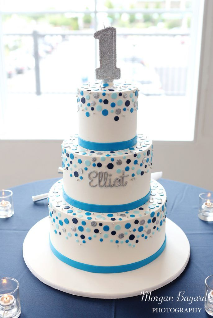 Awe Inspiring Buttercream 1St Birthday Cake The Hudson Cakery With Images Funny Birthday Cards Online Aeocydamsfinfo
