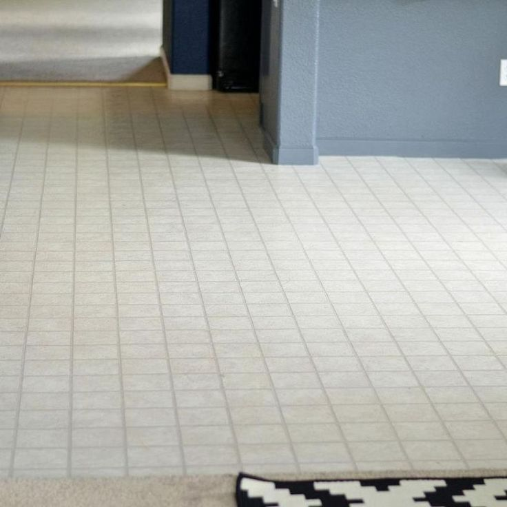 How to transform an ugly linoleum floor on the cheap diy for Cheap linoleum flooring