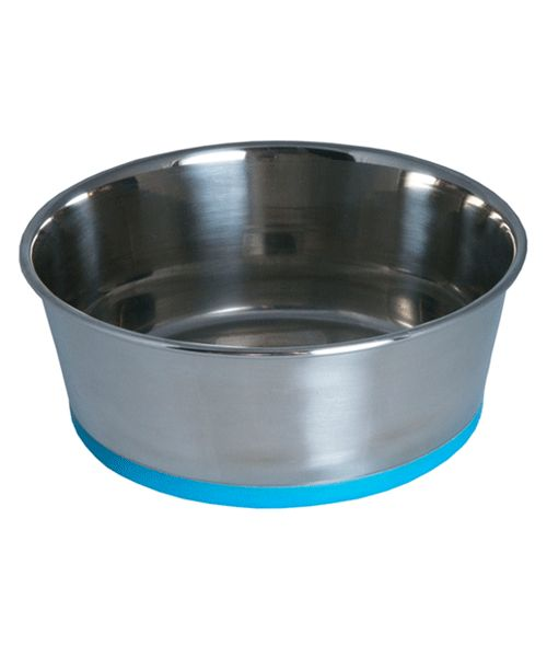 ROGZ SLURP BOWL - BLUE. Available from www.nuzzle.co.za