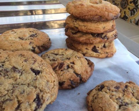 Sin City Chocolate Chip Cookie Recipe by Giada De Laurentiis