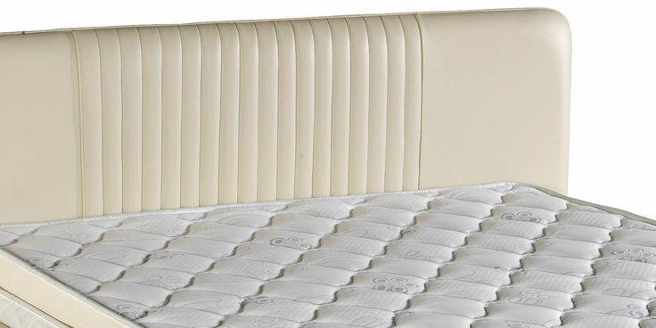 Narda Gordion Bed is designed with an upholstered heaboard | Narda Gordion Karyola döşemeli bir yatak başlığı ile tasarlanmıştır.