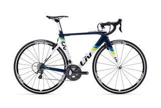 Liv Envie Advanced 1 http://www.bicycling.com/bikes-gear/newbikemo/2016-buyers-guide-best-womens-road-bikes/liv-envie-advanced-1