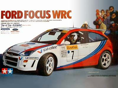 Boxart Ford Focus WRC 24217 Tamiya
