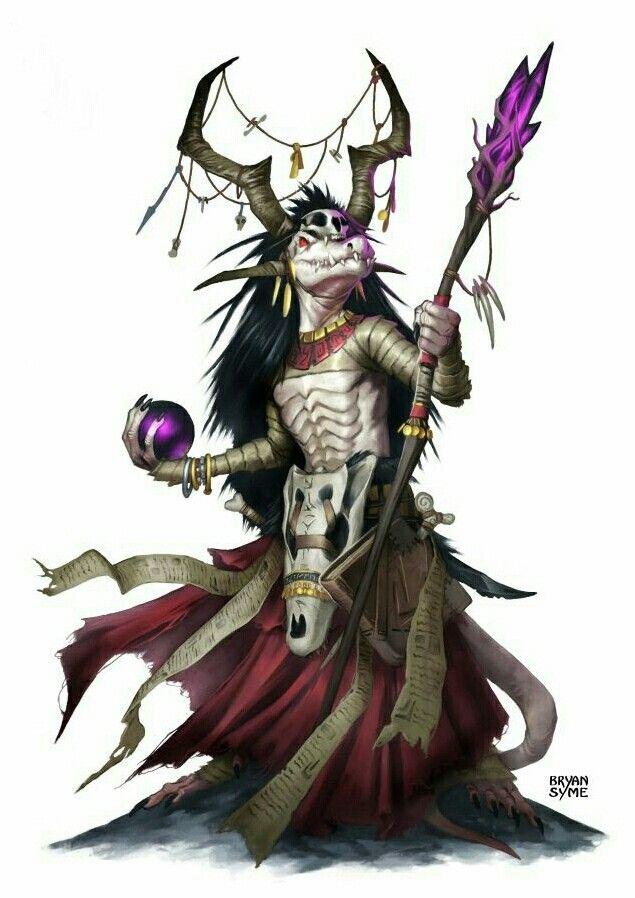 Kobold Wizard - Pathfinder PFRPG DND D&D d20 fantasy