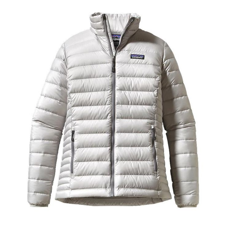 Women's Down Sweater Jacket I Tailored Grey I Patagonia