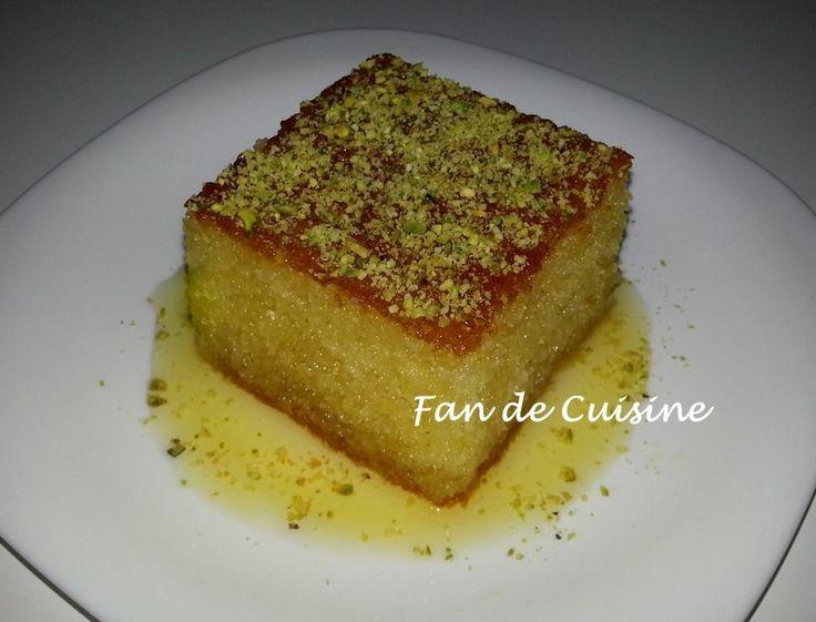 Basboussa amour de cuisine love of cooking pinterest - Cuisine algerienne facebook ...