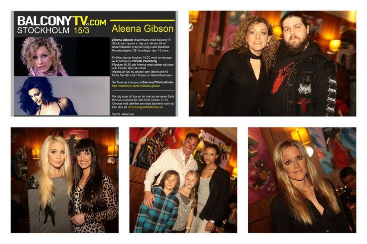 Höll i arrangemang med Balcony TV där Aleena Gibson sjöng, Pernilla Pramberg ställde ut sina alster och Vikingfjord Mojito var med som sponsor.