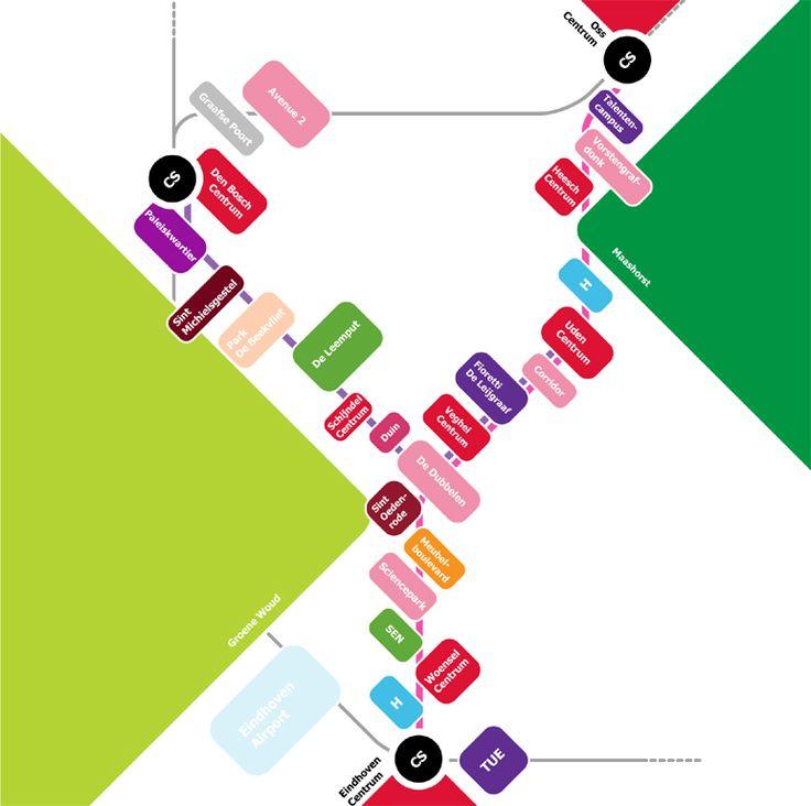 Inpassingvisie vooreen Hoogwaardig Openbaar Vervoer tracé (ruim 80 km vrije…