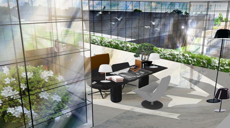 #Rendering #Interiordesign Ufficio