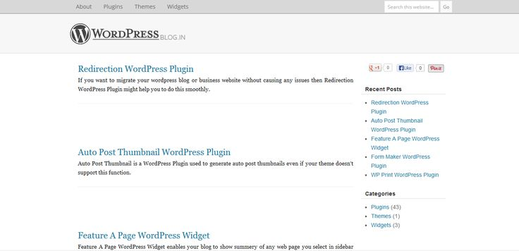 From thousands of themes, plugins and widgets available on WordPress.org website, WordPressBlog.in is advices you about what to select >> Wordpress Blog, Wordpress Plugins --> http://wordpressblog.in