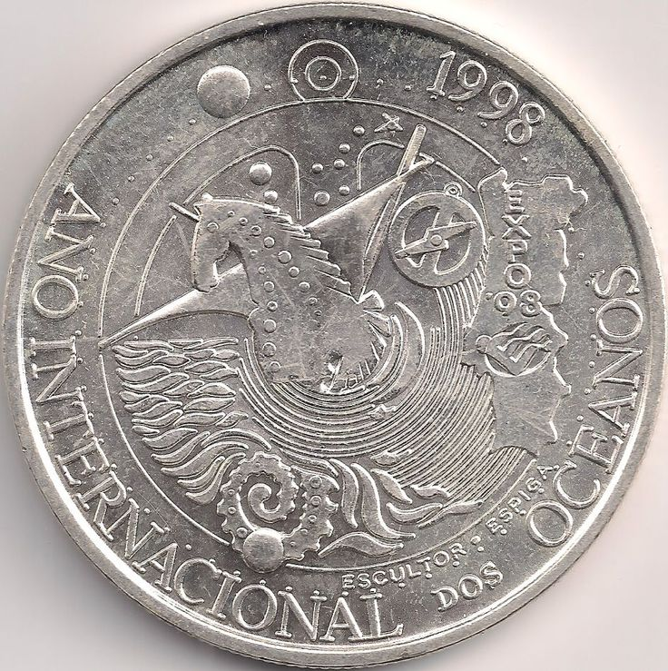 Motivseite: Münze-Europa-Südeuropa-Portugal-Escudo-1000.00-1998-EXPO 98
