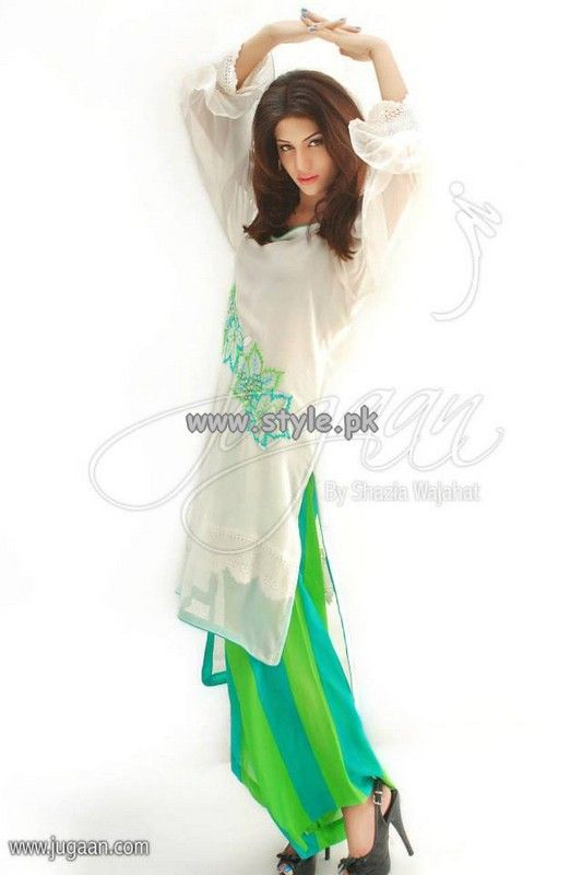 Jugaan Eid Collection 2013 For Women