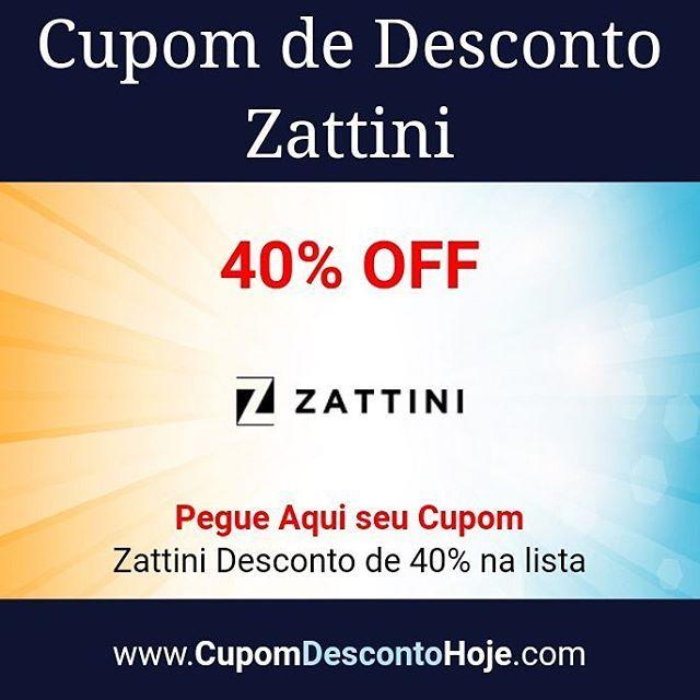 Cupom de Desconto 40% OFF Zattini    https://www.cupomdescontohoje.com.br/loja/zattini/3988    Zattini Desconto de 40% na lista    #zattini #zattini #desconto#lista  #cupomzattini  #voucherzattini #descontozattini  #zattini #cupomdescontozattini #cupom #cupomdesconto #cupomdescontohoje  #cupomdedesconto #voucher #economize #ofertas #promocao  #promocaododia #love #amo #amazing #adoro  #followme #follow #like4like #like #cute