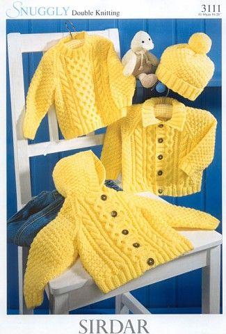 Retro Knitting Sirdar Baby Patterns 85p each
