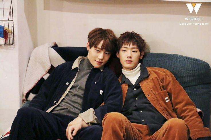 "[PIC] W PROJECT: JangJun and YoungTaek ""Drought"" Jacket Shoot Behind The Scenes cr. Naver { #Drought #Jangjun #LeeJangjun #TAG #SonYoungtaek #GoldenChild #WoollimEntertainment #Kpop } ©Tumblr @fyeahgoldenchild"