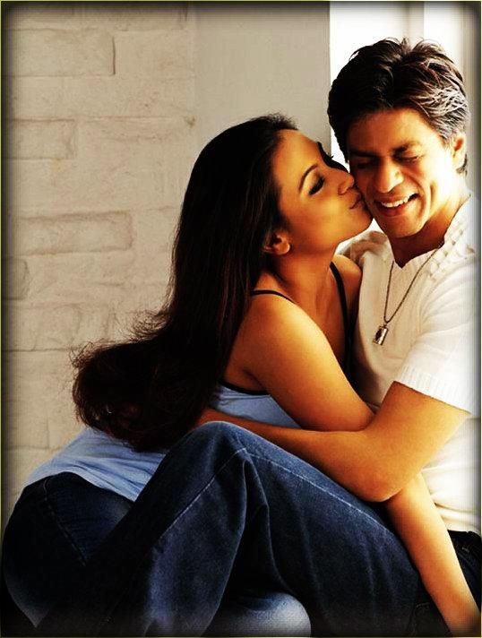 Rani Mukherjee and SRK.