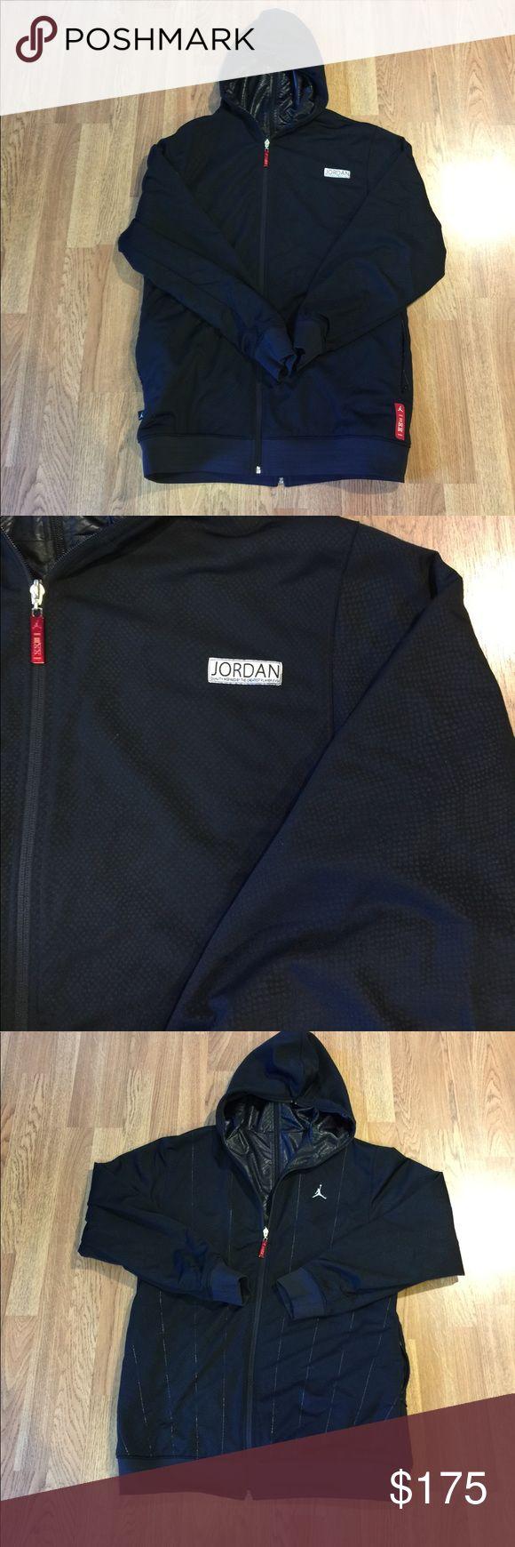 Rare Jordan 4 Way Hoodie RARE!! Jordan Men's 4 way zip up hoodie. Excellent condition. Jordan Shirts Sweatshirts & Hoodies