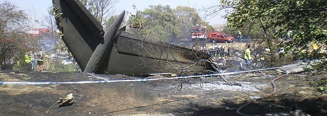 20 Agosto 2008 - Accidente avión Spanair en Barajas - 154 víctimas mortales.