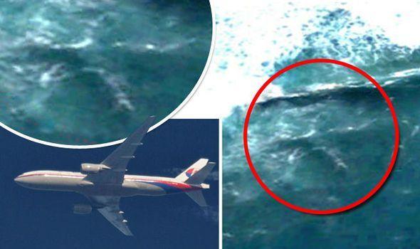 ¿Podría tratarse del desaparecido MH 370? El avión de Malaysia Airlines desapareció el 8 de marzo de 2014 en el océano Índico.