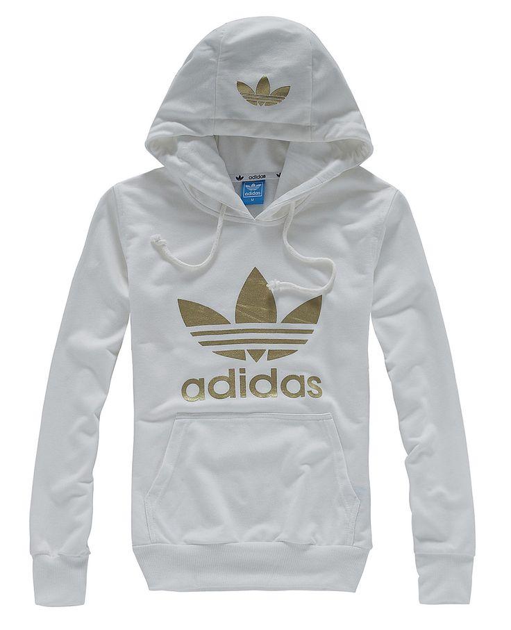 adidas jackets original hoody white