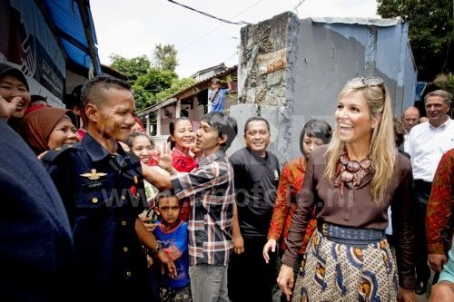 Dag 2 bezoek Maxima aan Indonesië
