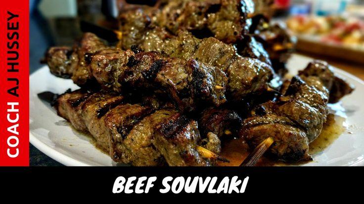 Greek Beef Souvlaki