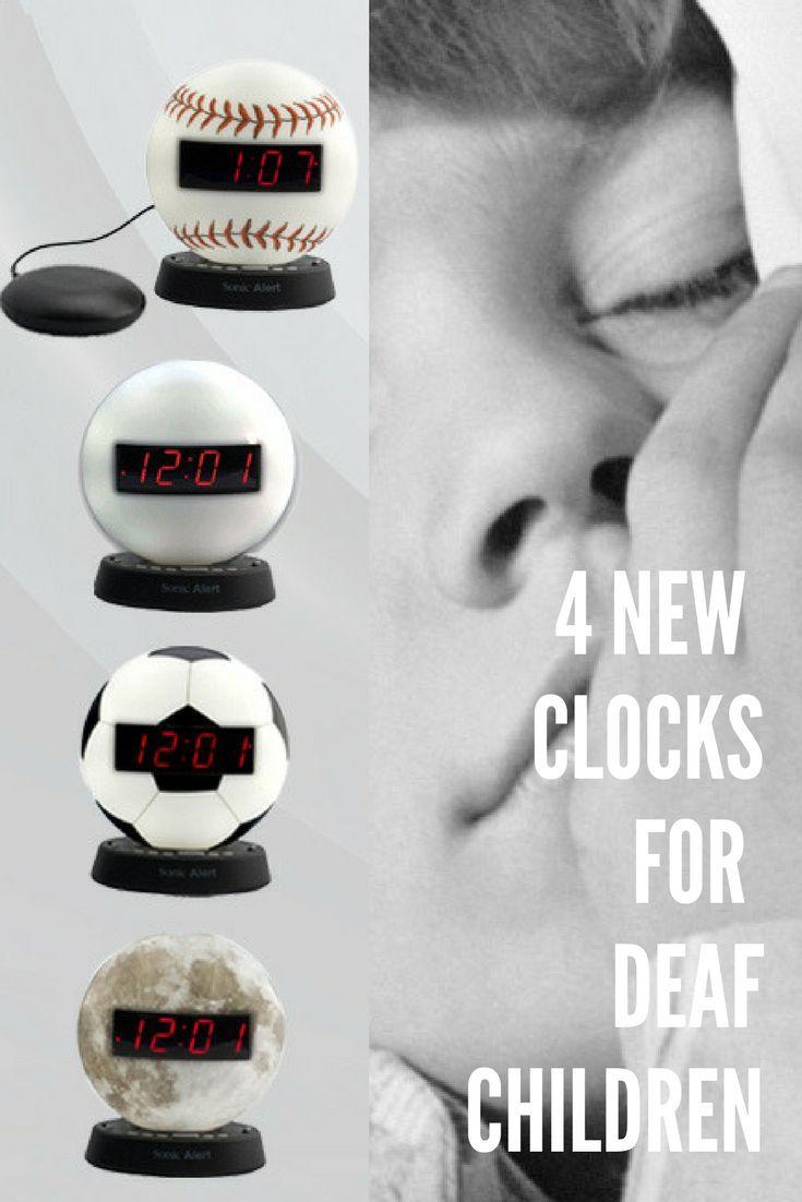 4 New Clocks for Deaf Children & Teens