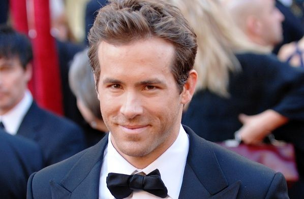 Canadian actor Ryan Reynolds...