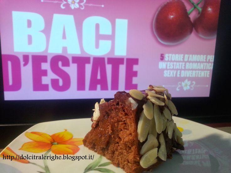 Dolci tra le righe: Baci d'estate con Torta Regina di Saba. http://dolcitralerighe.blogspot.it/2014/07/baci-destate-con-torta-regina-di-saba.html