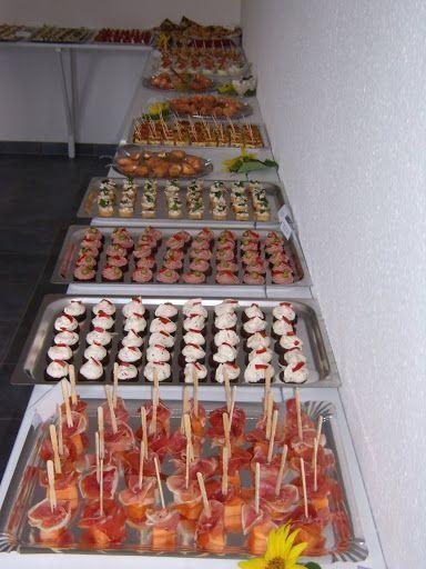 Fingerfoodbuffet zum runden Geburtstag | Fingerfood Forum | Chefkoch.de