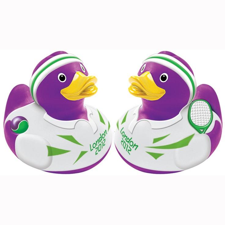 Team GB Olympic Tennis duck