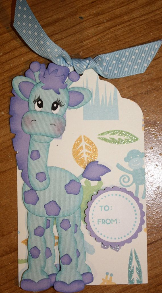 One to try with punches, or could use cricut cut out.  Could be used for journaling tag or gift tag for a child.