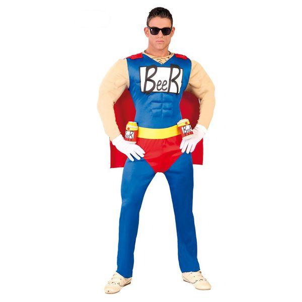 El disfraz de beerman hombre adulto, incluye traje, cinturón y capa  en DisfracesMimo.com