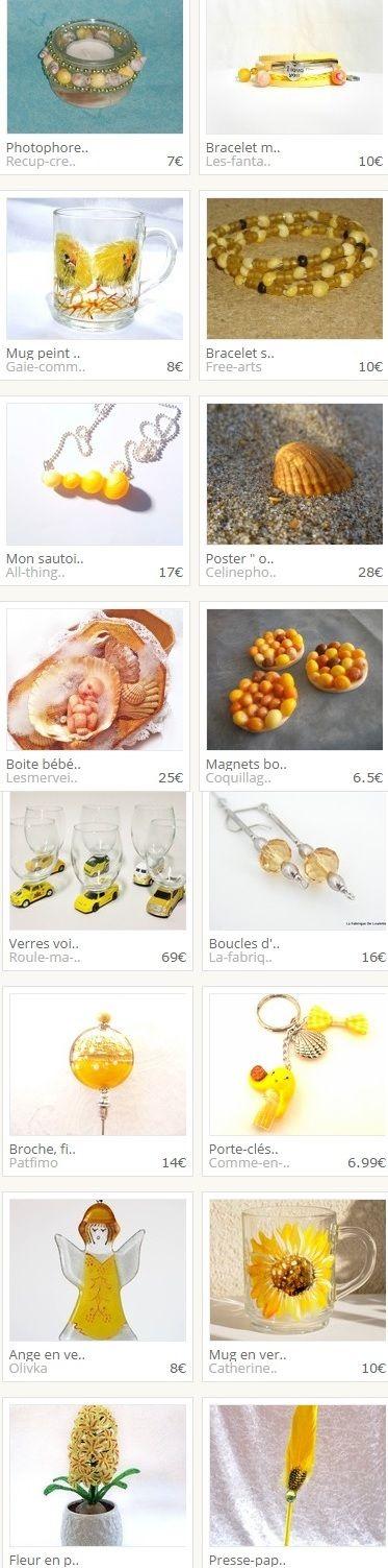Collection réalisée par recup-creation :  www.alittlemarket.com/boutique/recup-creation