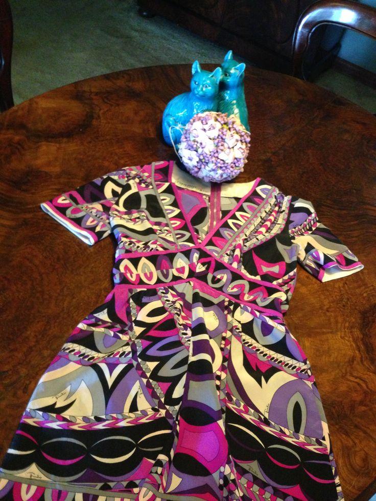 #PUCCI pure #silk shirt or mini dress