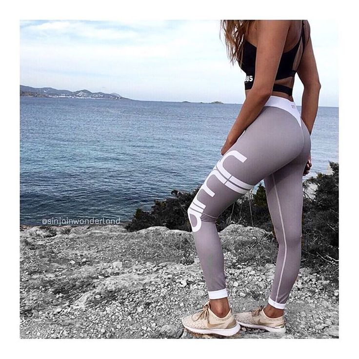 #aimn #aimnsportswear #nike #sneakers #sneakerlove #juvenate #beige #sporttights #activewear #grey #stripes