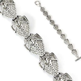 Bracelet homme gothique boucliers médiévaux