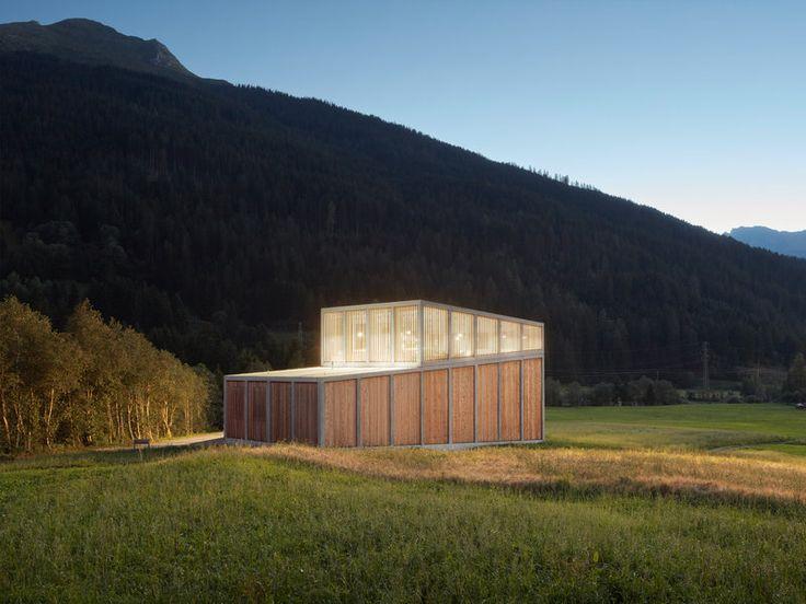 best architects architektur award // Cangemi Architekten / / Ragn d'Err hydropower plant / Gewerbe- & Industriebauten