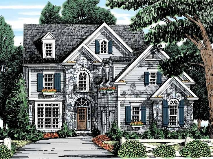 Nice Eplans French Country House Plans Part - 14: Eplans French Country House Plan - Gourmet Kitchen - 2702 Square Feet And 4  Bedrooms From