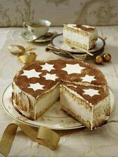 Zimt-Mascarpone-Torte.. Was eine super Idee für die Weihnachtstage!!