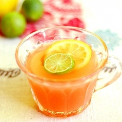 Tropical juice recipe and others for your next Hawaiian party.