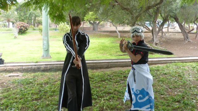 gintoki sakata - gintama and kirito - sword art online
