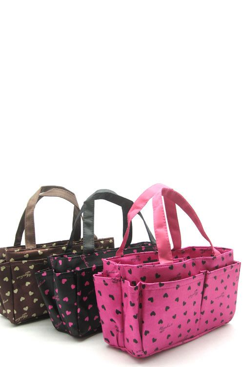 Ever start digging in your purse and go crazy because everything is everywhere? Give your things a home with these purse organizers. They fit right inside your purse and provide tons of nooks and cran