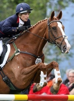 Nail-biting time: Queen's granddaughter, Zara Phillips, seeks UK equestrian Olympic berth