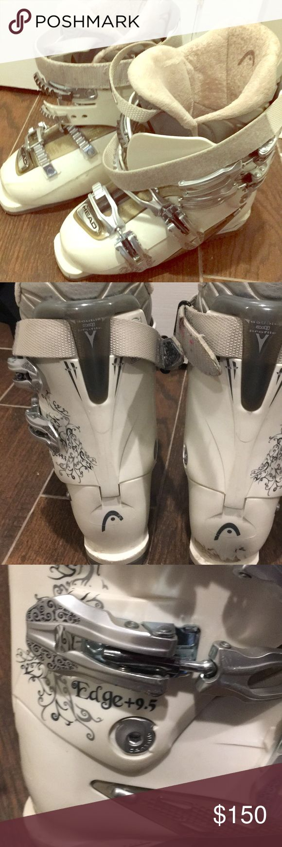 Head Ski boots Wore these for a few ski seasons and now want a new pair. These are perfect for the wide calf lady out there and are super comfortable HEAD Shoes